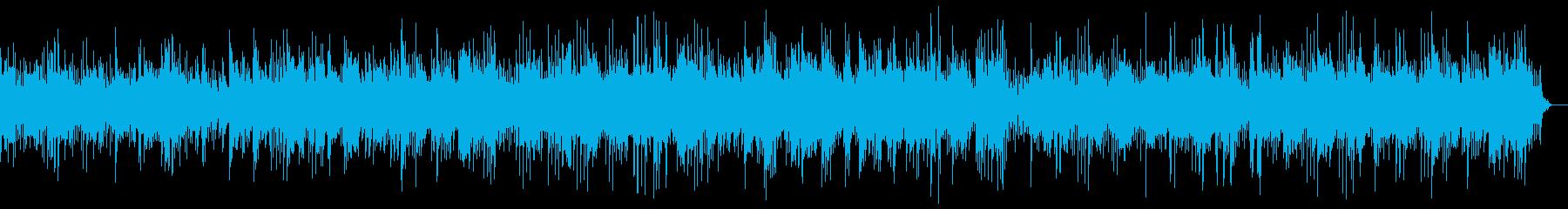 旋律の綺麗な高音のヒーリングピアノの再生済みの波形