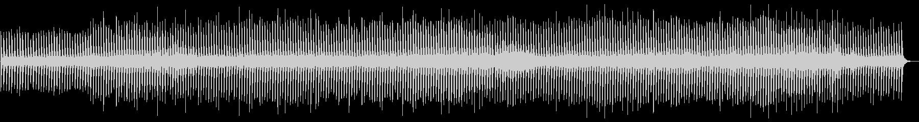 ミニマルっぽいソロピアノの未再生の波形