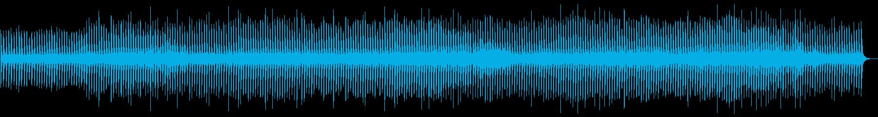 ミニマルっぽいソロピアノの再生済みの波形