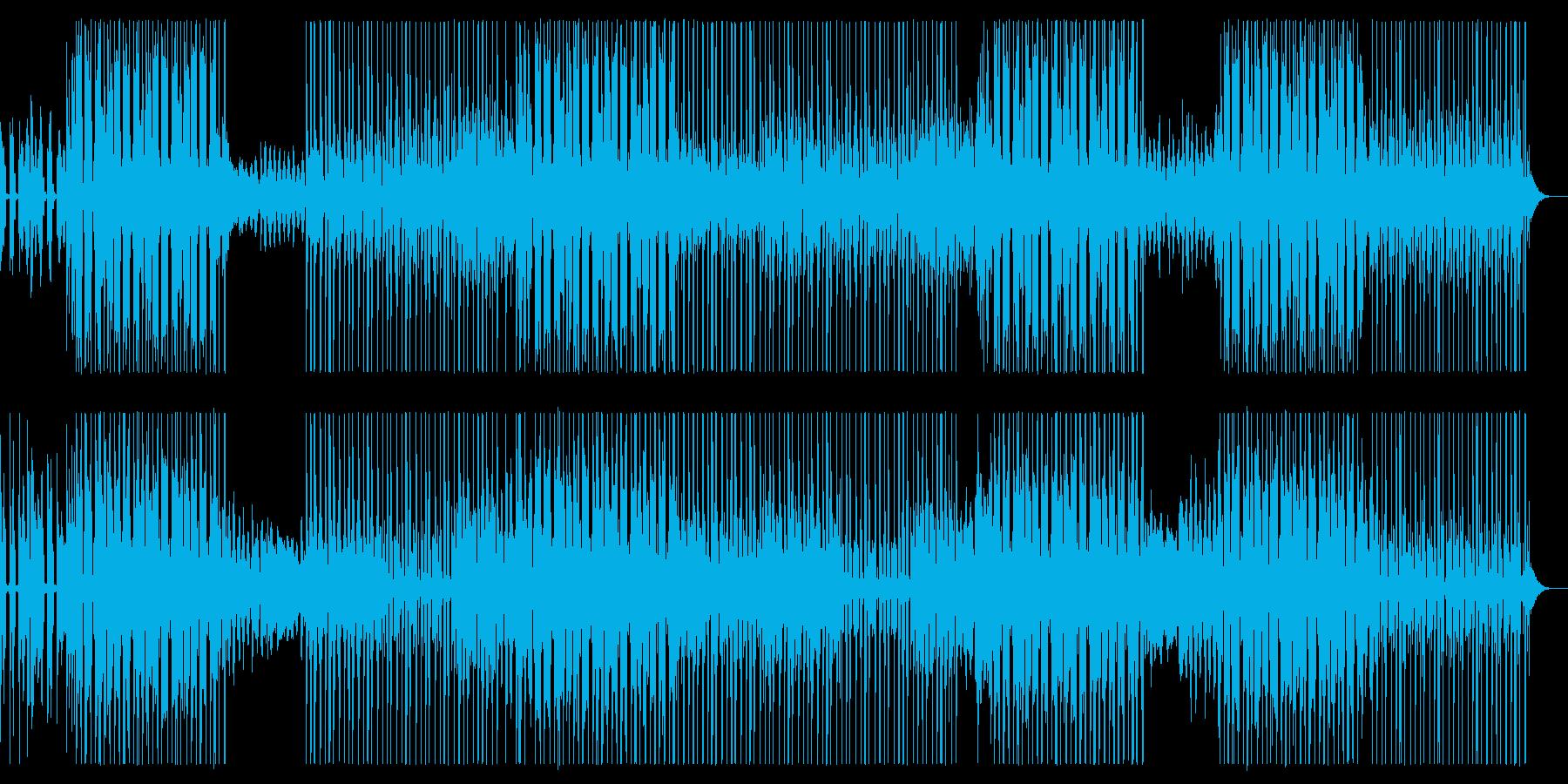 フリーソウル、シティポップ系HipHopの再生済みの波形