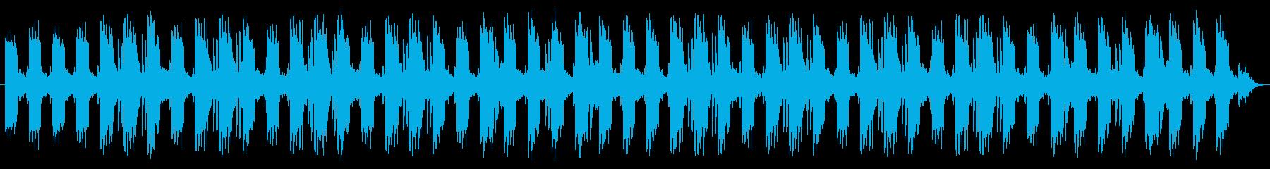 静かなフローズン・ループの再生済みの波形