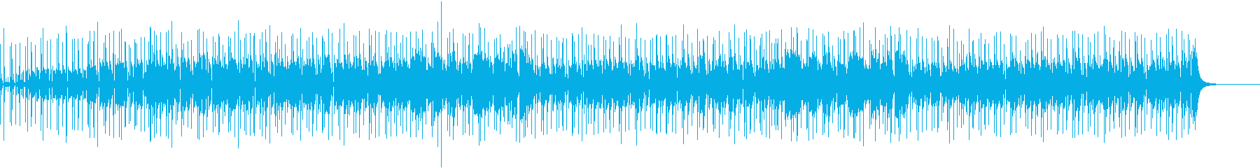 ホーンとギターのファンキーなグルーヴの再生済みの波形