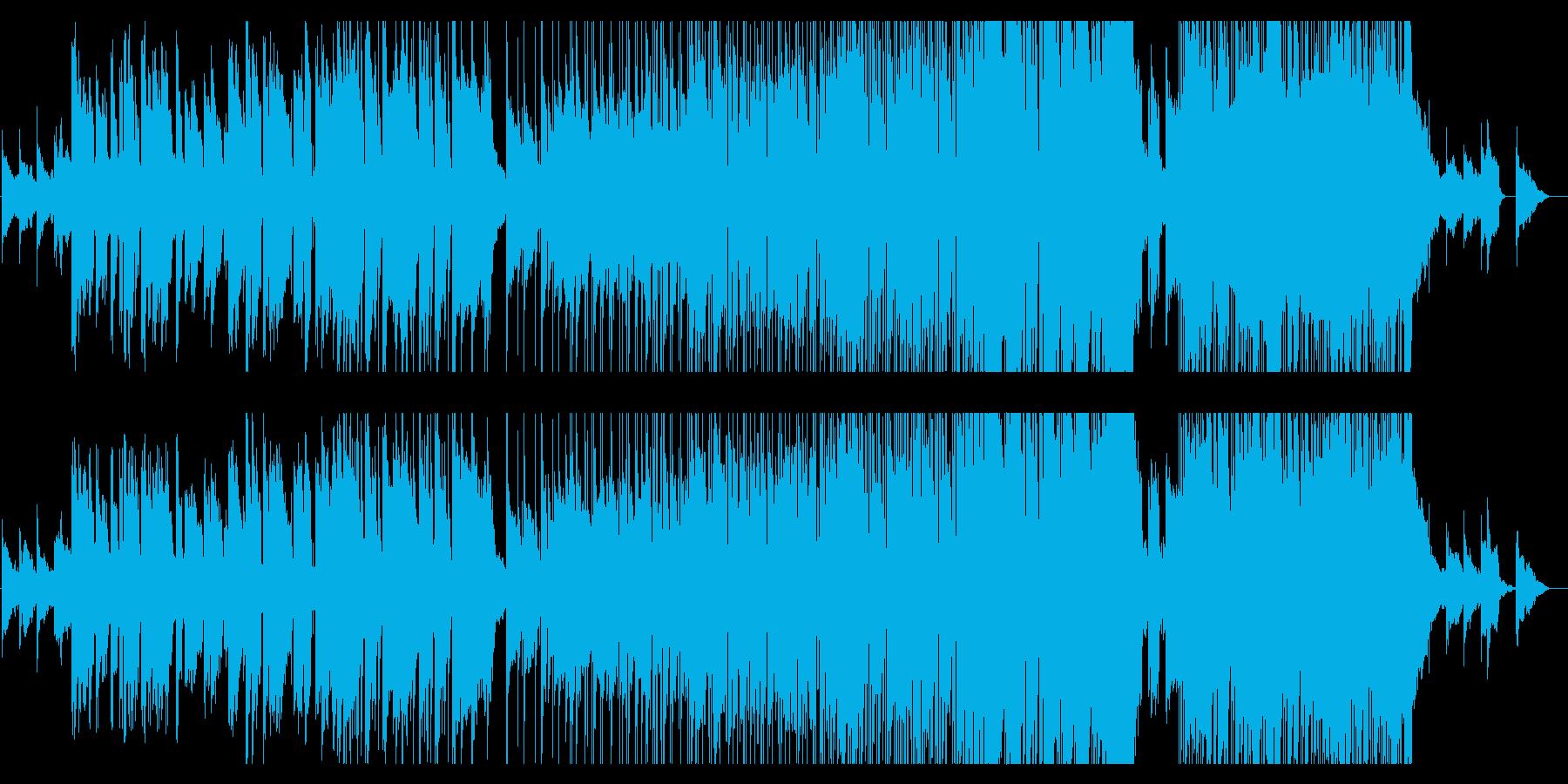 爽やかなサックス、後半盛上がるバラードの再生済みの波形