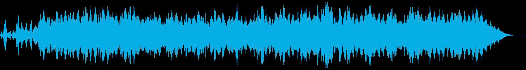 大釜:バブリーランブリングドローン...の再生済みの波形
