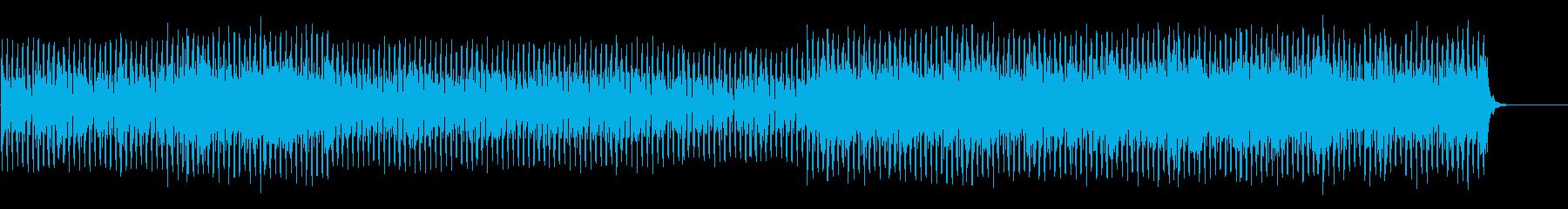 疾走感のあるクールなテクノポップ の再生済みの波形
