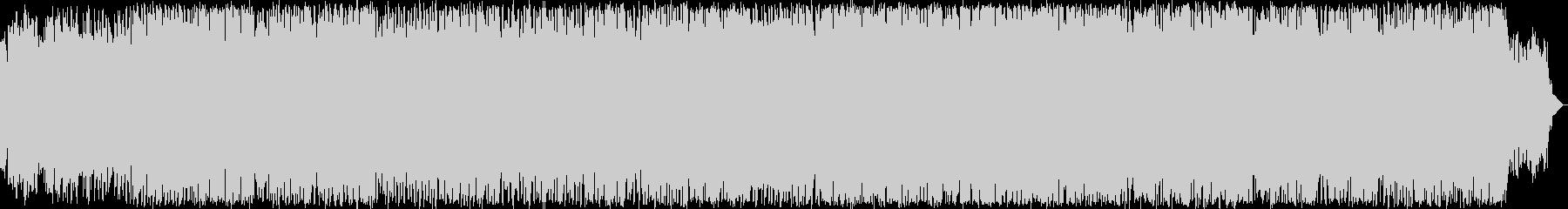 クールなエレクトロニックミュージックの未再生の波形