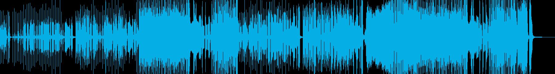 小動物をテーマとしたコミカルポップスの再生済みの波形