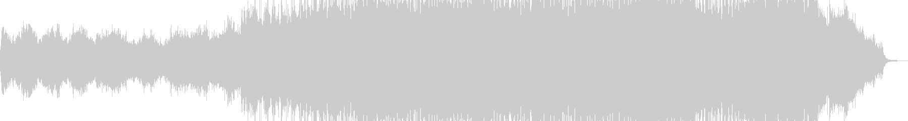 ストリングス・幕開け盛大な作品に 長尺の未再生の波形