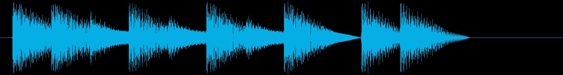 8bitジングル#3スタート&クリアの再生済みの波形
