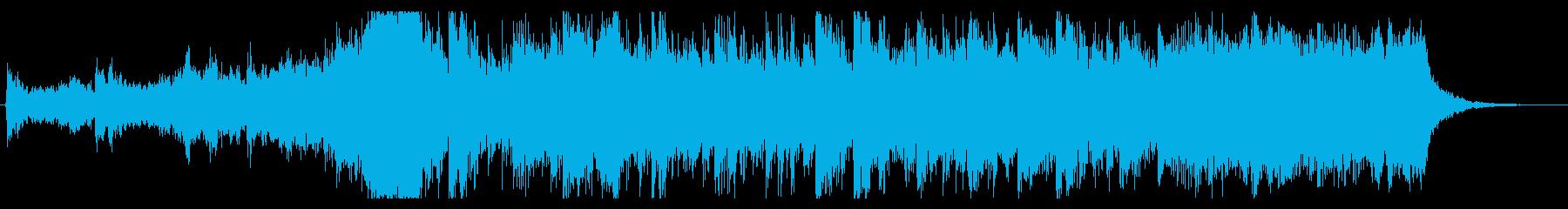 大自然壮大オケ 30秒 syn無の再生済みの波形