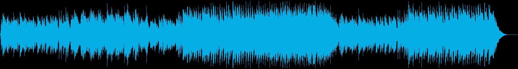 【リズムなし】和・アジアBGMの再生済みの波形