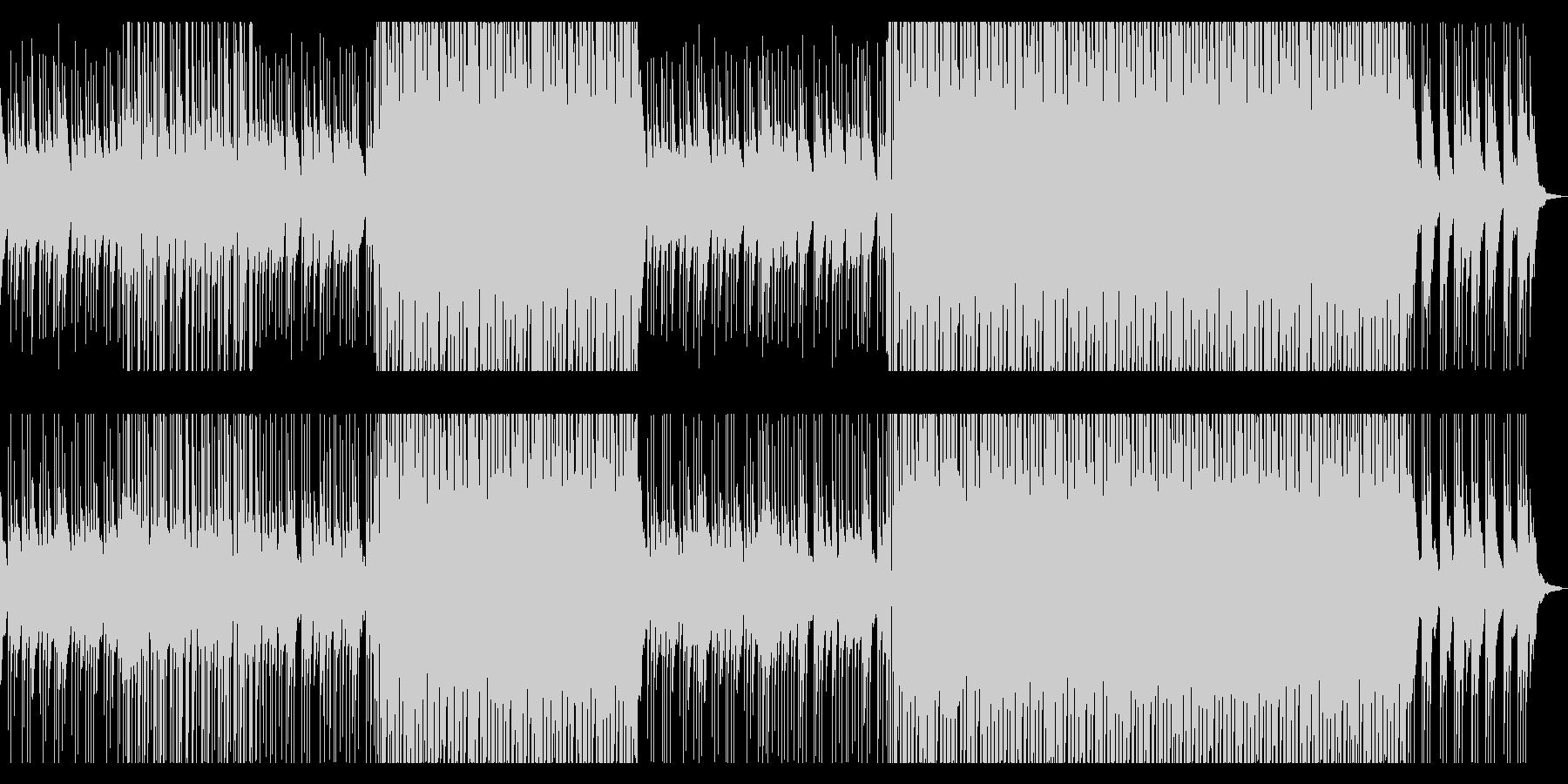 ピアノ&パーカッションさわやかポップス1の未再生の波形
