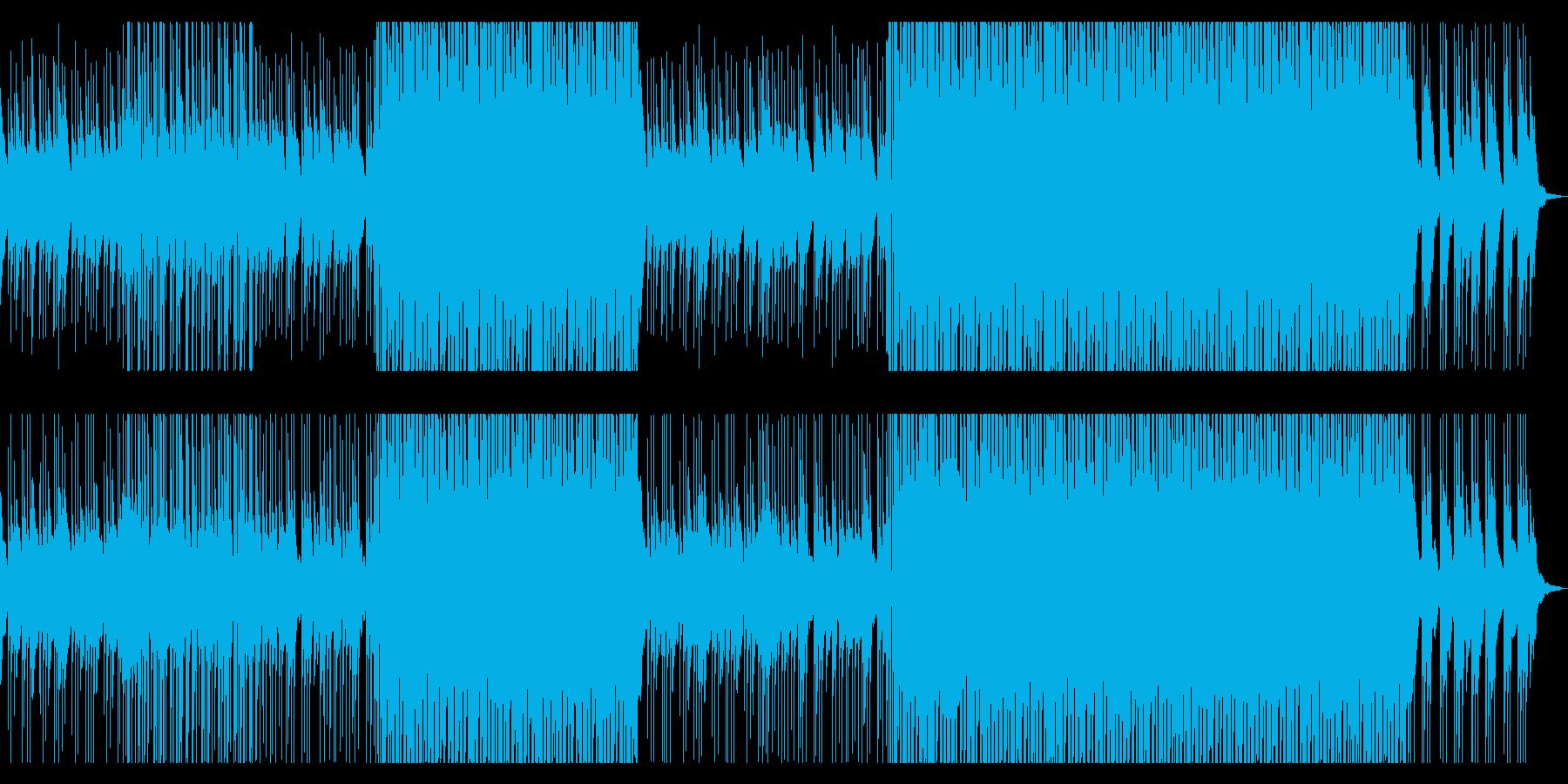 ピアノ&パーカッションさわやかポップス1の再生済みの波形