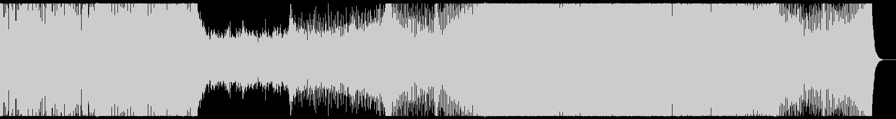 爽やかな哀愁を感じるプログレッシブハウスの未再生の波形