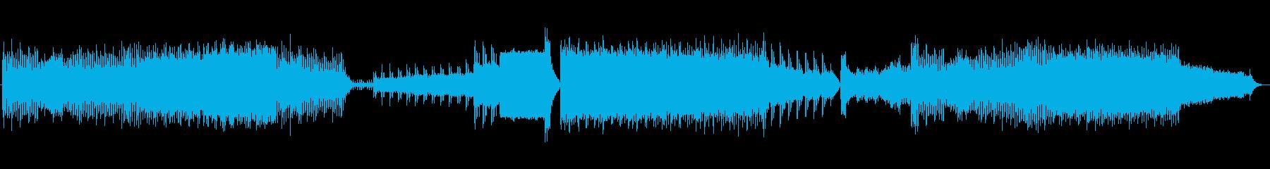 90'sを思い出すようなトランス曲です。の再生済みの波形