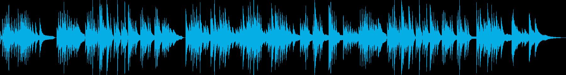 昼下がりのピアノバラードの再生済みの波形