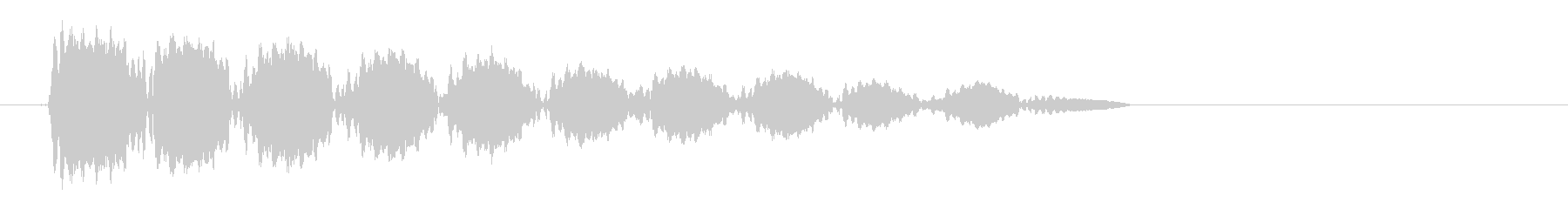 プーンの未再生の波形