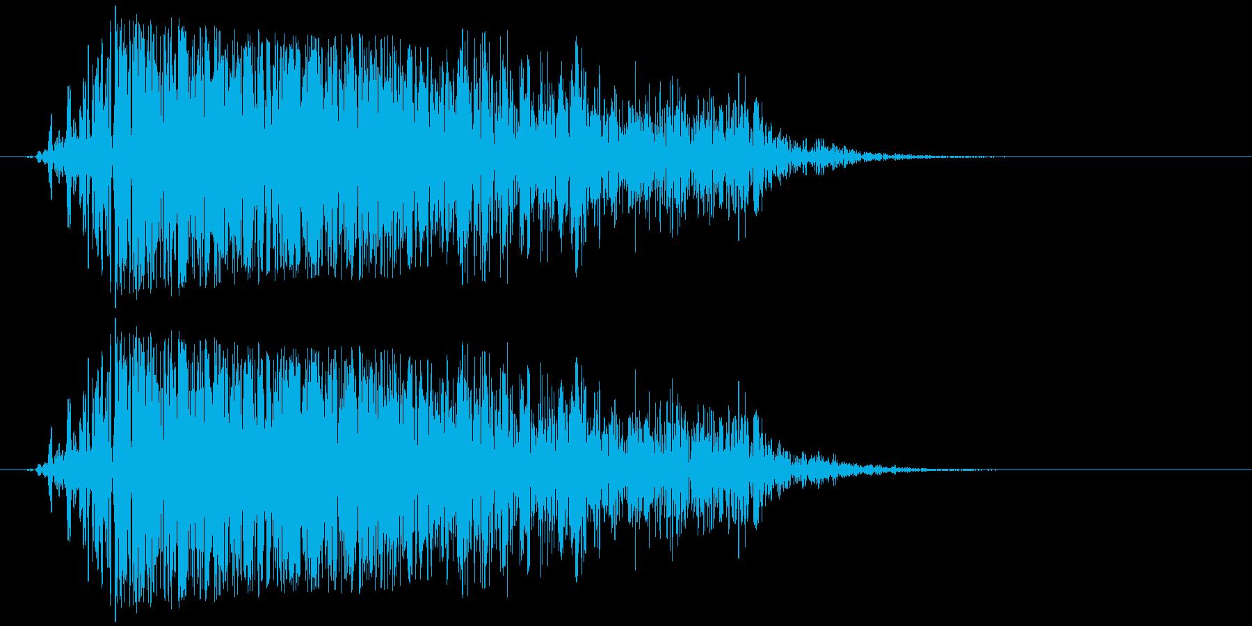 モンスター ガオー 02の再生済みの波形
