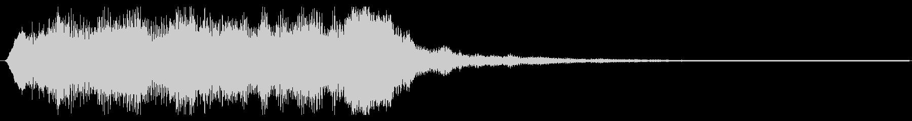バイオリンのクラシカルフレーズ 場面転換の未再生の波形