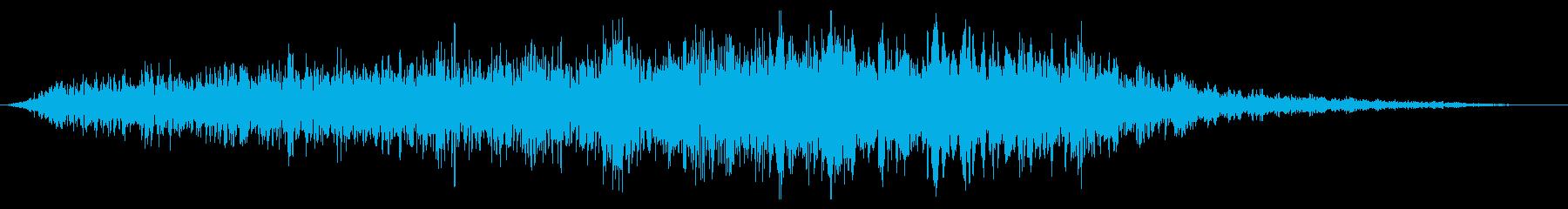 スローシズルライザーの再生済みの波形