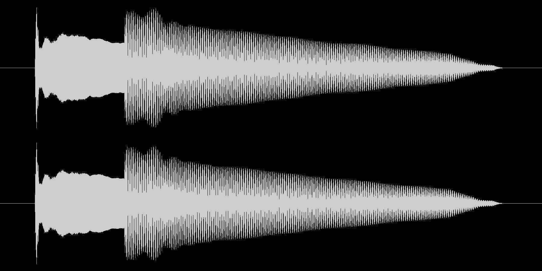 改札 アラーム01-6(音色2)の未再生の波形