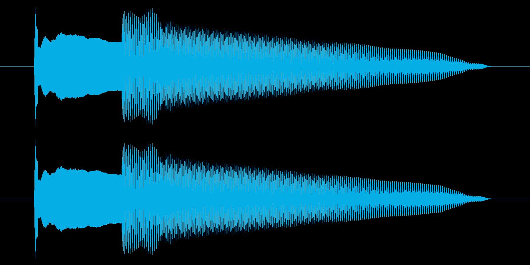 改札 アラーム01-6(音色2)の再生済みの波形