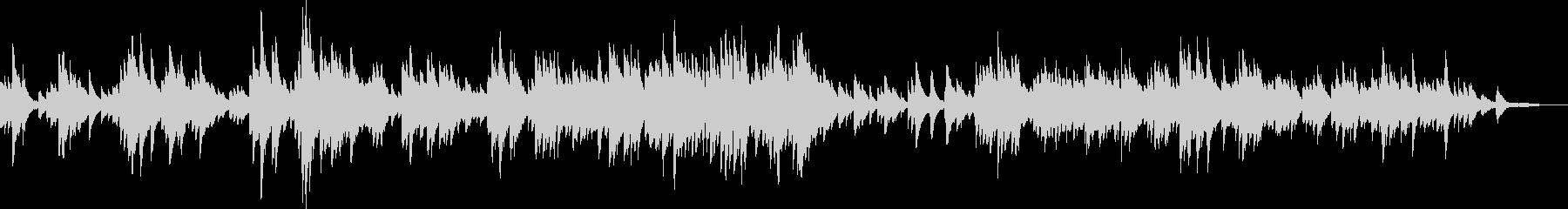 感動的なピアノバラード(優しい・希望)の未再生の波形