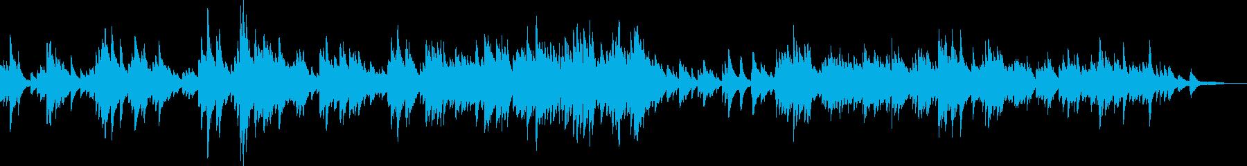 感動的なピアノバラード(優しい・希望)の再生済みの波形