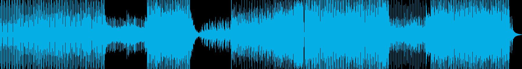 キャッチーなシンセポップの再生済みの波形