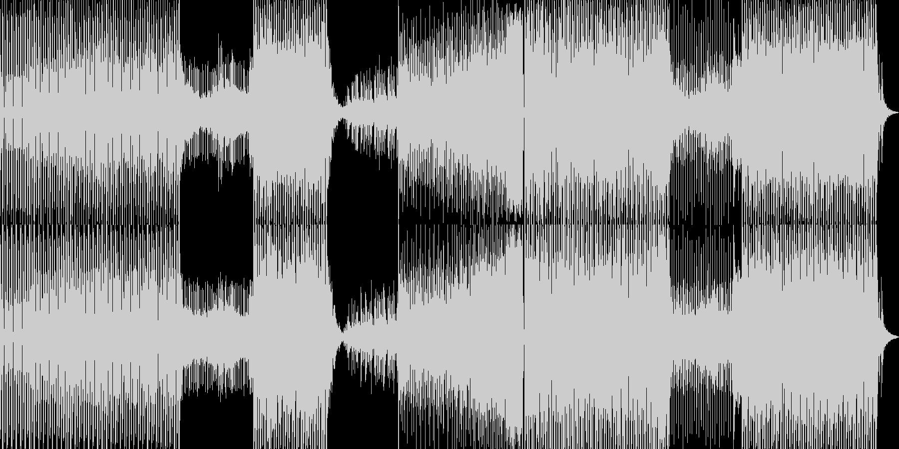 キャッチーなシンセポップの未再生の波形