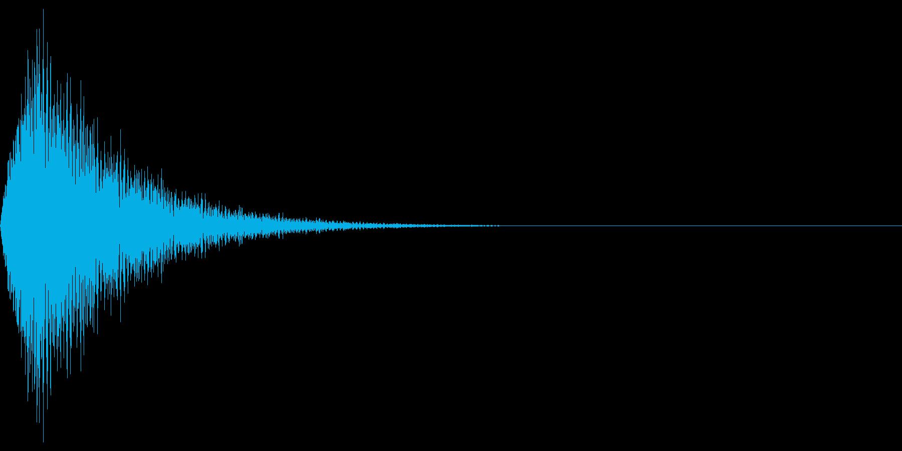 ビシューンの再生済みの波形