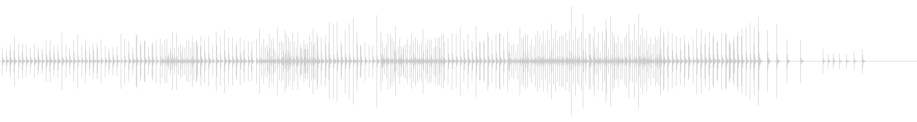 木琴14歌舞伎黒御簾下座音楽和風日本マリの未再生の波形