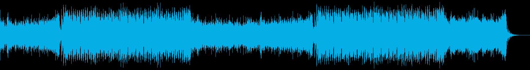 コールドプレイ風ダンスポップ女性ボーカルの再生済みの波形