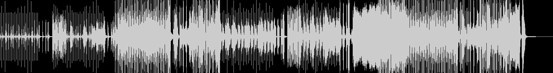 小動物をテーマとしたコミカルポップス ★の未再生の波形