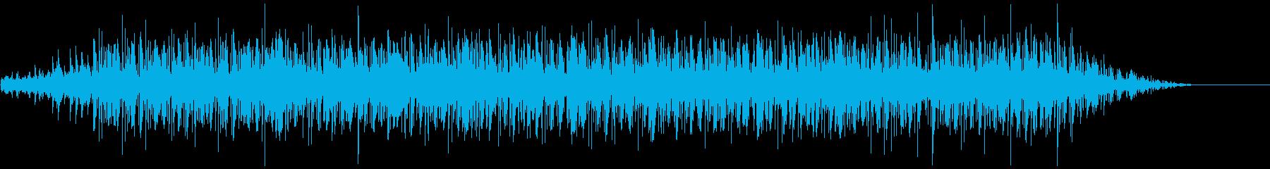 80sヴェイパー風ポップの再生済みの波形