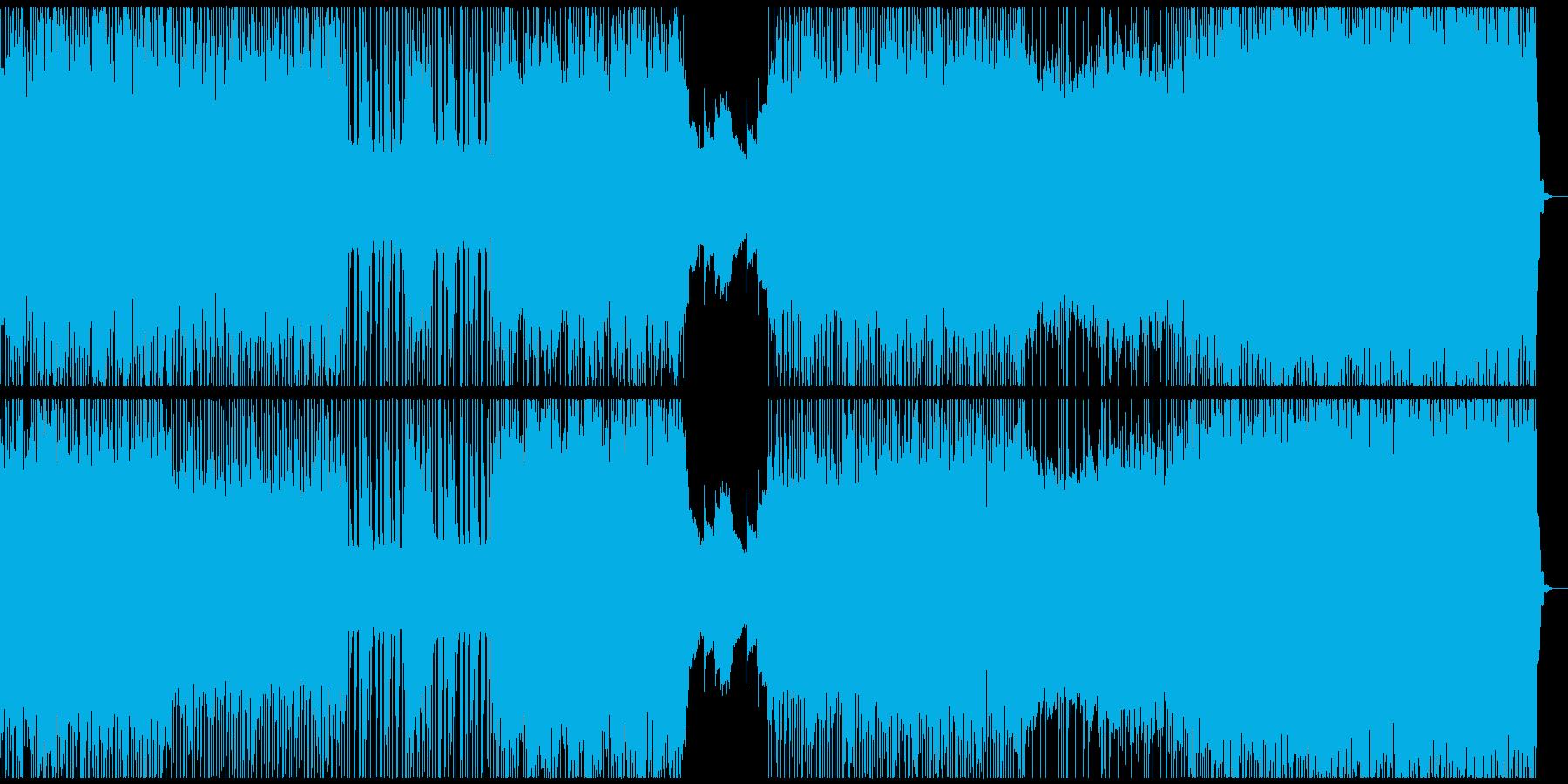 颯爽と駆抜けるパンクハードロックはこれの再生済みの波形