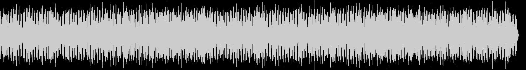 ほのぼのしたリコーダーとピアノのBGMの未再生の波形