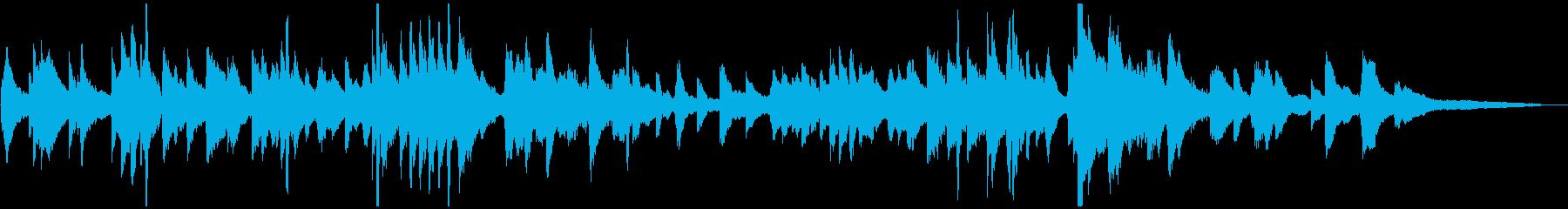 優しくゆったり ヒーリング系ピアノソロの再生済みの波形