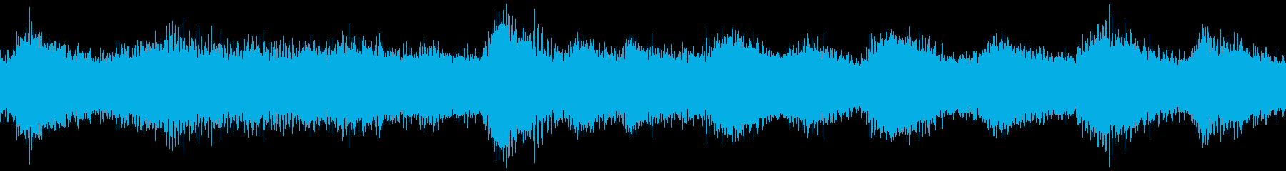 ヒグラシの鳴き声の再生済みの波形