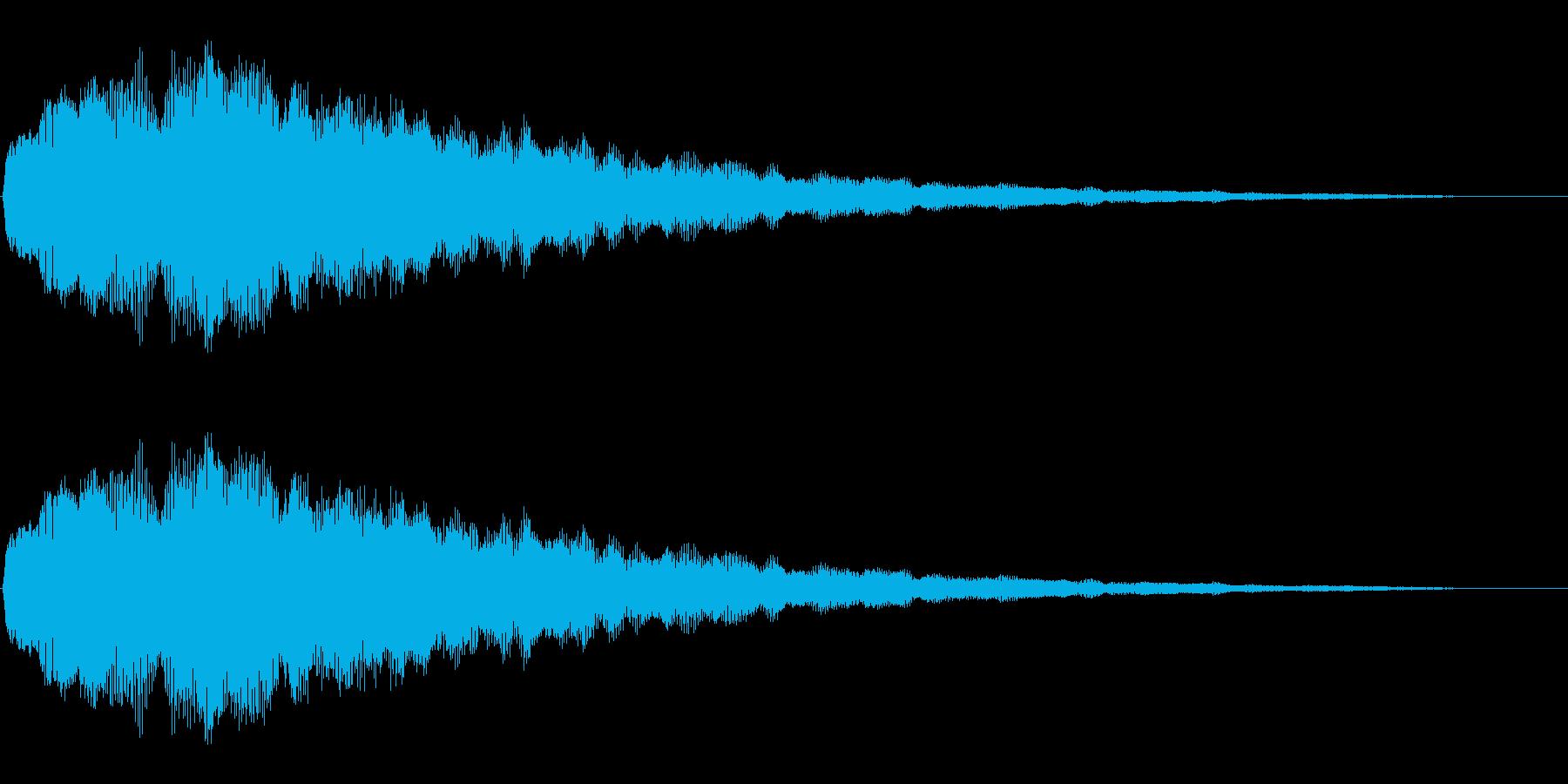 キラキラ(絵本/綺麗/場面転換)の再生済みの波形