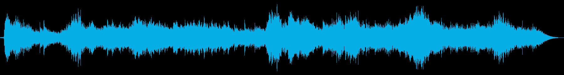異次元空間のようなBGMの再生済みの波形