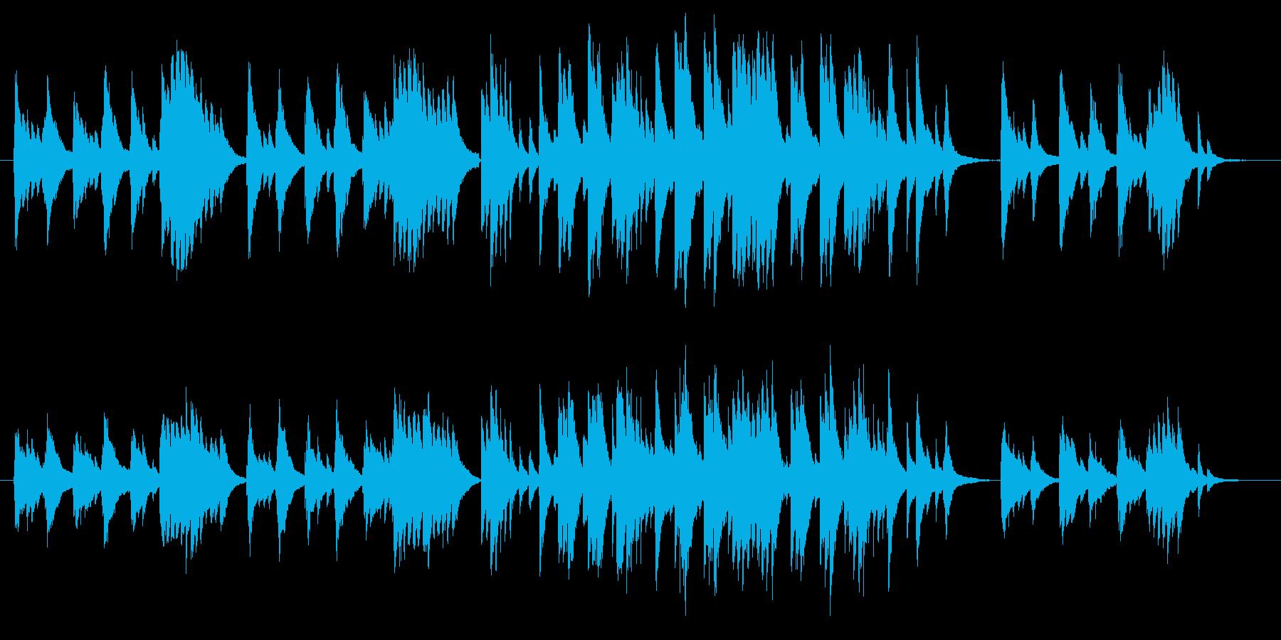ピアノソロ さびしい 秋 別れ 安らかの再生済みの波形