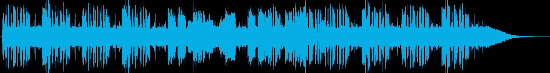 晴れの日に聞きたいほのぼのリコーダーの再生済みの波形