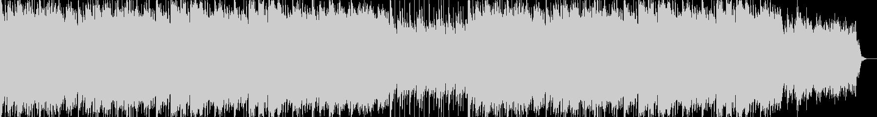 マリンバとアコーディオンの明るい曲の未再生の波形