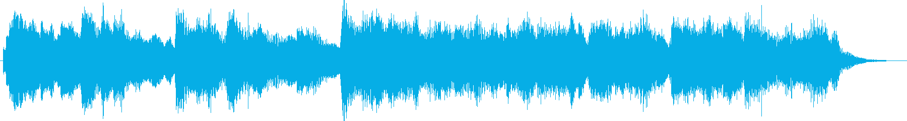 Bright and beautiful ballad jingle's reproduced waveform