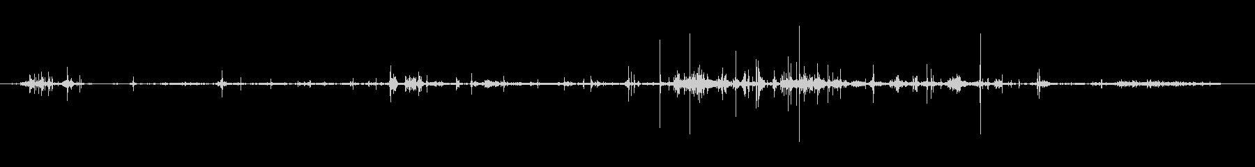 葉 ラッスルシーケンス01の未再生の波形