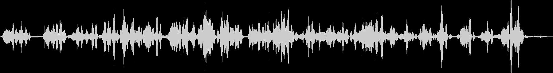 明るい散乱した失われた電気音声通信の未再生の波形