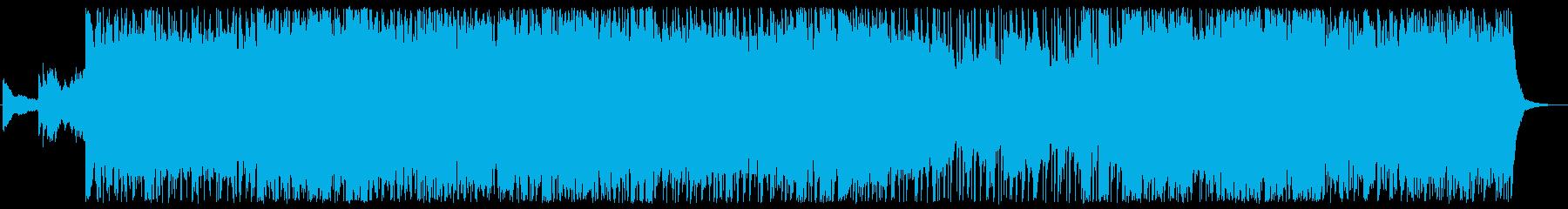 メタル バトル 焦り ドラマチック...の再生済みの波形