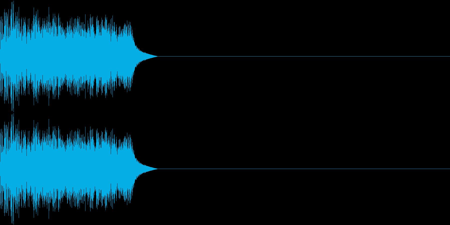8ビット ファミコン アップ ゲージ3の再生済みの波形