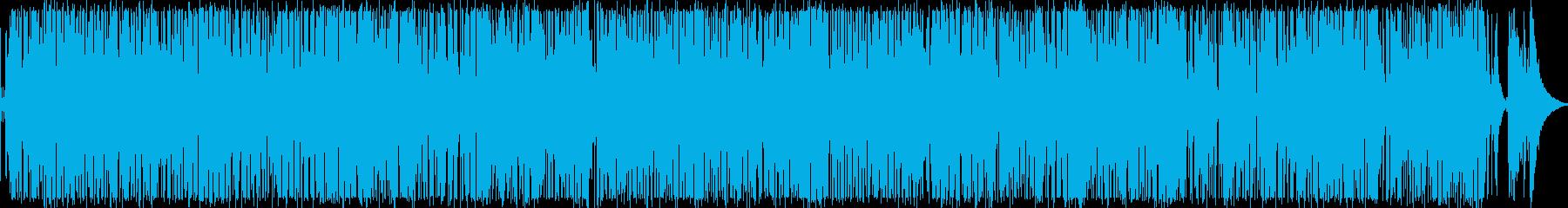 演歌テイストアコースティックの再生済みの波形